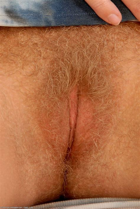 Close Up Wet Hairy Pussy